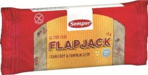 Prøv også Semper Flapjack Tranbär & Pumpafrö.