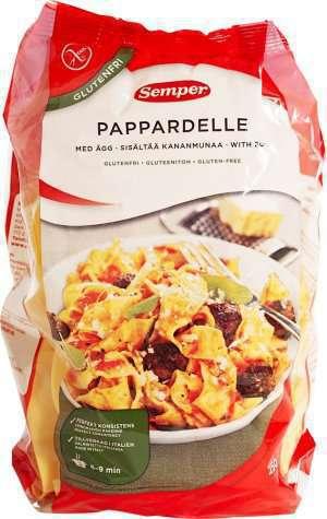 Prøv også Semper Pappardella med ägg.
