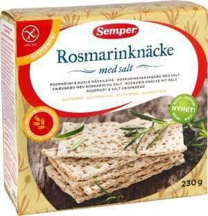 Prøv også Semper Rosmarinknäcke med salt.