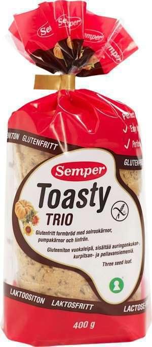 Prøv også Semper Toasty Trio.