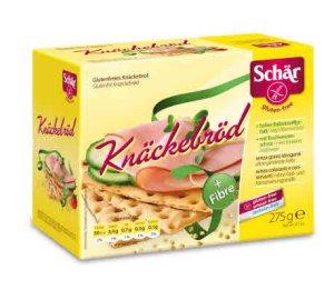 Prøv også DrSchär Knekkebrød.