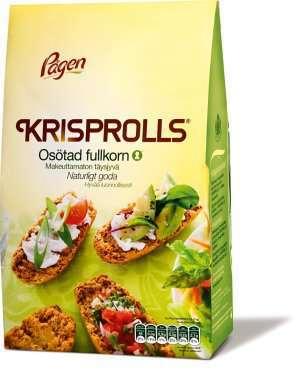 Prøv også Pågen KRISPROLLS Osötad fullkorn.