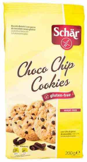 Prøv også DrSchär Choco Chip Cookie.