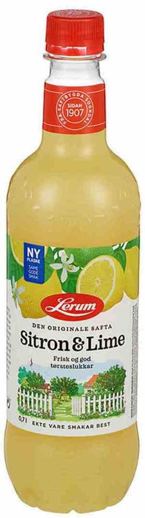 Prøv også Lerum Sitron-limesaft.