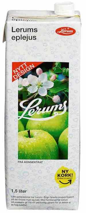 Prøv også Lerums eplejus.