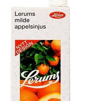 Bilde av Lerum milde appelsinjus.