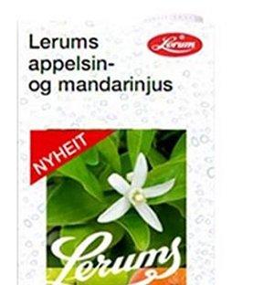 Prøv også Lerums appelsin- og mandarinjus.