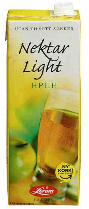 Prøv også Lerums eplenektar light.