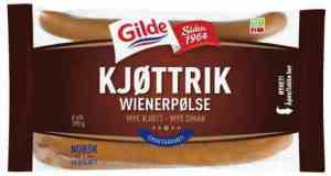 Prøv også Gilde kjøttrik wienerpølse.