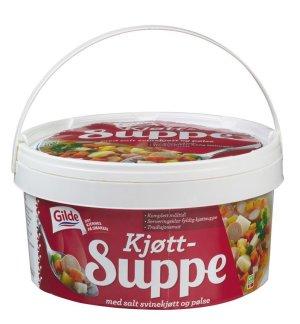 Prøv også Gilde Kjøttsuppe m/kjøtt og pølse..