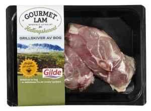 Prøv også Gilde gourmetlam grillskiver av bog.