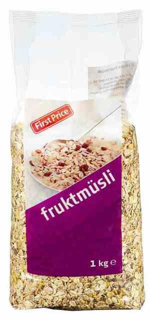 Prøv også First price fruktmusli.