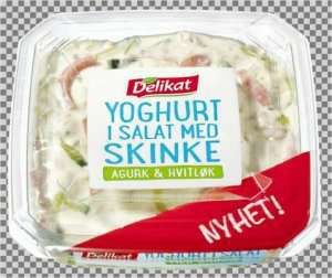 Prøv også Delikat Yoghurt i salat med skinke.