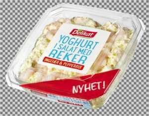 Prøv også Delikat Yoghurt i salat med reker.