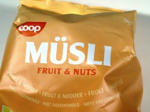 Prøv også Coop musli fruits and nuts.