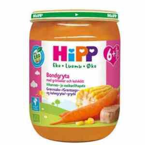 Prøv også Hipp Grønnsaks- og Kalvegryte.