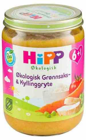 Prøv også Hipp kyllinggryte.