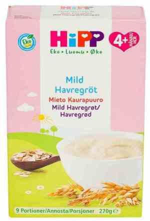Prøv også Hipp Mild Havregrøt.