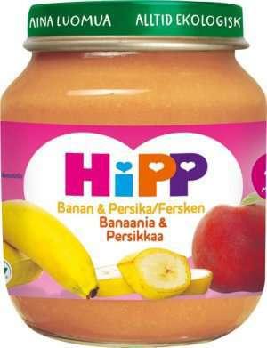 Prøv også Hipp Banan & fersken.