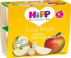 Prøv også Hipp Fruit break eple og banan.