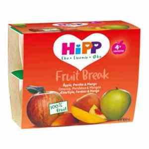 Prøv også Hipp Fruit break eple, fersken og mango.