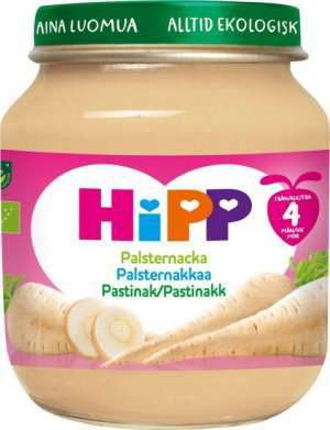 Prøv også Hipp pastinakk.