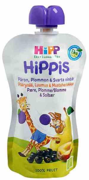 Prøv også Hipp Smoothie - Pære, plomme og solbær.