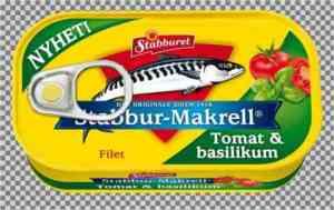 Prøv også Stabbur makrell tomat og basilikum.