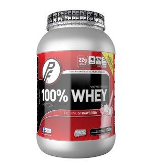 Prøv også Proteinfabrikken 100 % Whey Protein 1000g Jordbær.