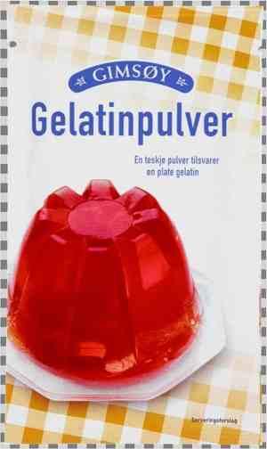 Prøv også Gimsøy gelatinpulver.