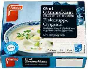 Prøv også Findus God Gammeldags Original Fiskesuppe.
