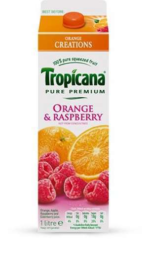 Prøv også Tropicana Orange & Raspberry.