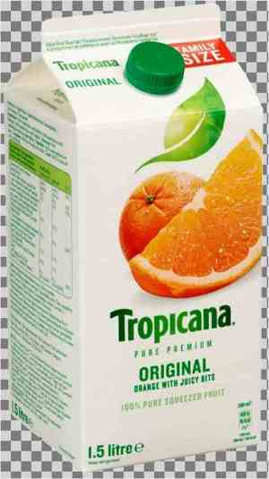 Prøv også Tropicana original orange.