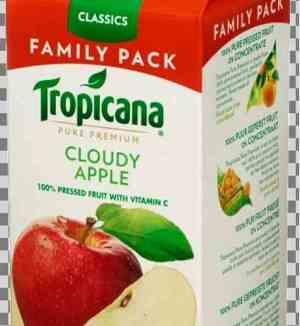 Prøv også Tropicana Cloudy Apple.
