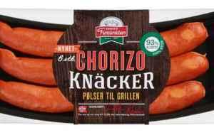 Prøv også Finsbråten Chorizo knacker.