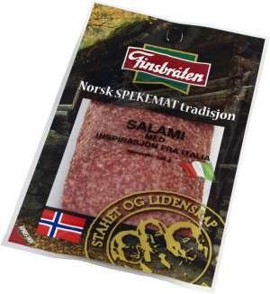 Prøv også Finsbråten salami med inspirasjon fra Italia 100g.