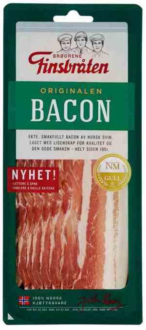 Prøv også Finsbråten bacon i skiver.