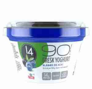 Prøv også Tine 14 Gresk Yoghurt Blåbær/Acai.