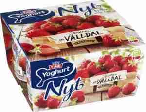 Prøv også Tine Yoghurt Nyt Jordbær fra Valldal.