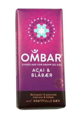 Prøv også Ombar Acai og Blueberry.