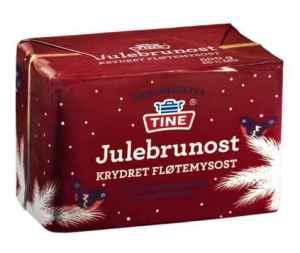Prøv også Tine julebrunost.