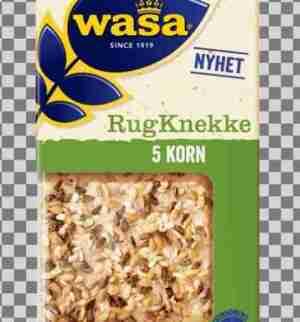 Prøv også Wasa RugKnekke 5 Korn.