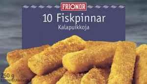 Prøv også Frionor fiskepinner.
