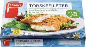 Prøv også Findus Torskefileter med kavring, smakfulle urter og frø.