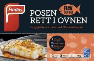 Prøv også Findus fisk i en fei torsk med middelhavssmør.