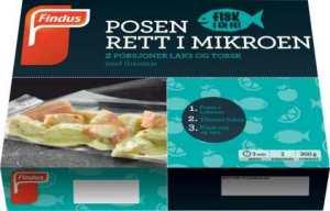 Prøv også Findus fisk i en fei Laks og Torsk med Thaismak.