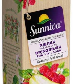 Prøv også Tine Sunniva Premium juice med Pære fra Italia og sesongens Solbær fra Hedmark.