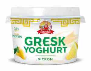 Prøv også Synnøve gresk yoghurt sitron.