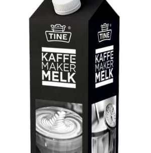 Prøv også Tine kaffemakermelk.