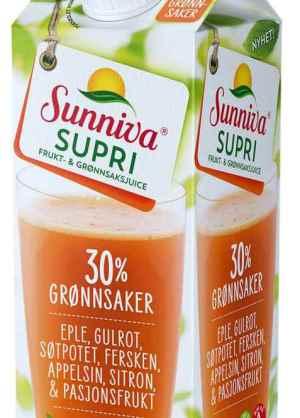 Prøv også Tine Sunniva supri eple og gulrot.